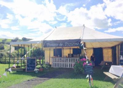 Pimms & Prosecco Tent